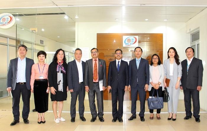 Thúc đẩy triển khai dự án giai đoạn 2, Trung tâm nguồn lực CNTT&TT Việt Nam - Ấn Độ