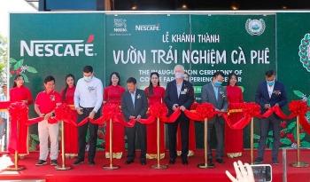 """Khánh Thành """"Vườn trải nghiệm cà phê Nescafe Wasi"""" tại Tây Nguyên"""