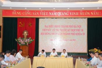 Đại biểu Hội đồng nhân dân Thành phố tiếp xúc cử tri quận Hoàn Kiếm