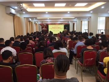 Hơn 200 đại biểu quận Hoàn Kiếm tham gia  huấn luyện công tác An toàn vệ sinh lao