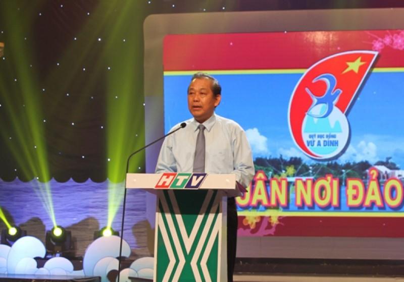 """Phó Thủ tướng Trương Hòa Bình dự Chương trình """"Xuân nơi đảo xa"""""""