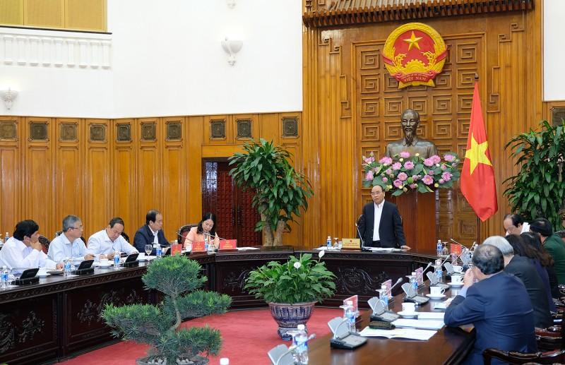 Thủ tướng Nguyễn Xuân Phúc làm việc với lãnh đạo chủ chốt tỉnh An Giang