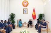 Thủ tướng tiếp Bộ trưởng Ngoại giao Liberia