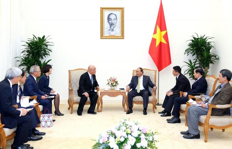 Thủ tướng tiếp cố vấn Nội các của Thủ tướng Nhật Bản