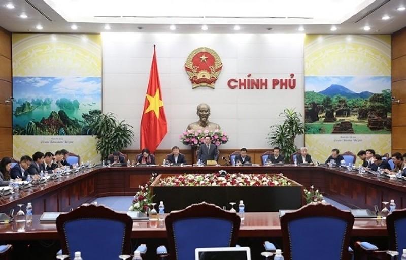 Phó Thủ tướng Vương Đình Huệ chủ trì cuộc họp về điều hành giá
