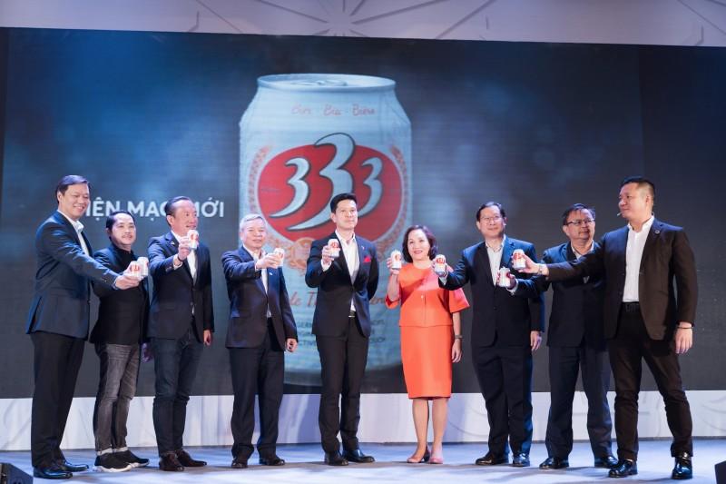 Bia 333 – Thương hiệu bia huyền thoại trở lại với diện mạo mới
