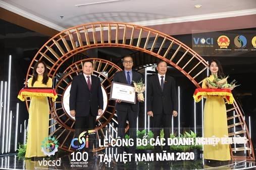 Nestlé Việt Nam được vinh danh Top 03 doanh nghiệp bền vững năm 2020
