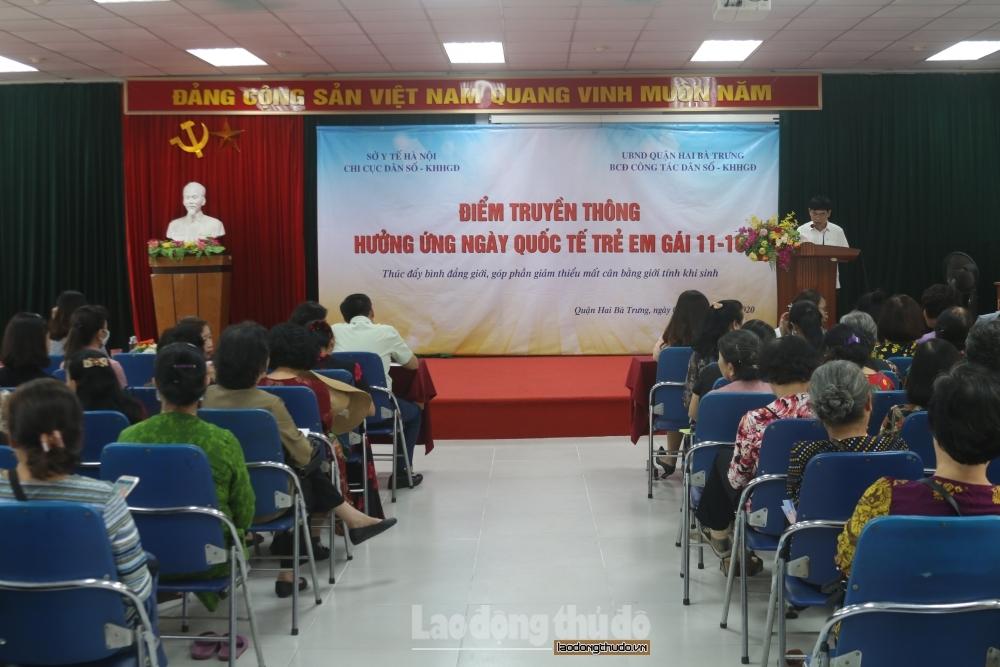 Hà Nội phát động Chiến dịch truyền thông về Mất cân bằng giới tính khi sinh
