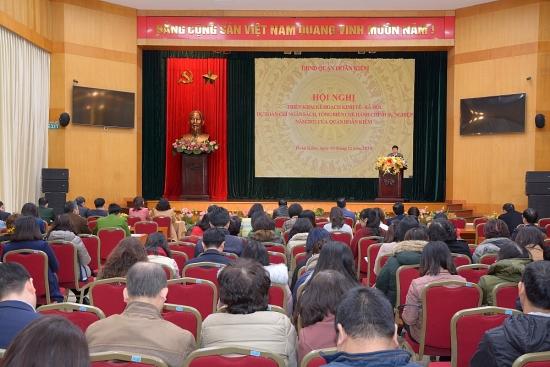Quận Hoàn Kiếm giao chỉ tiêu phát triển kinh tế, xã hội năm 2021