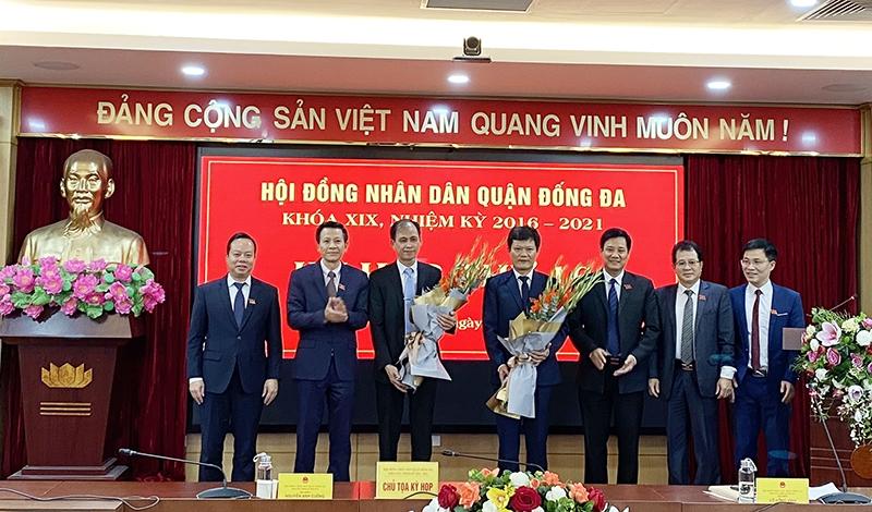 Ông Hà Anh Tuấn giữ chức Phó Chủ tịch Uỷ ban nhân dân quận Đống Đa