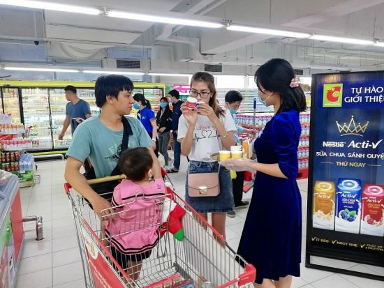 Sữa chua sánh quyện Nestlé ACTI-V lần đầu có mặt trên thị trường