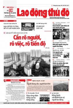 Lao động Thủ đô - Số 130