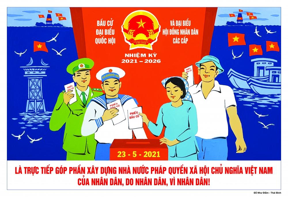 Nguyên tắc bầu cử Đại biểu Quốc hội và Đại biểu Hội đồng nhân dân