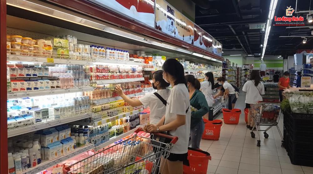 Hà Nội: Sẵn sàng cung ứng đầy đủ nhu yếu phẩm phục vụ người dân