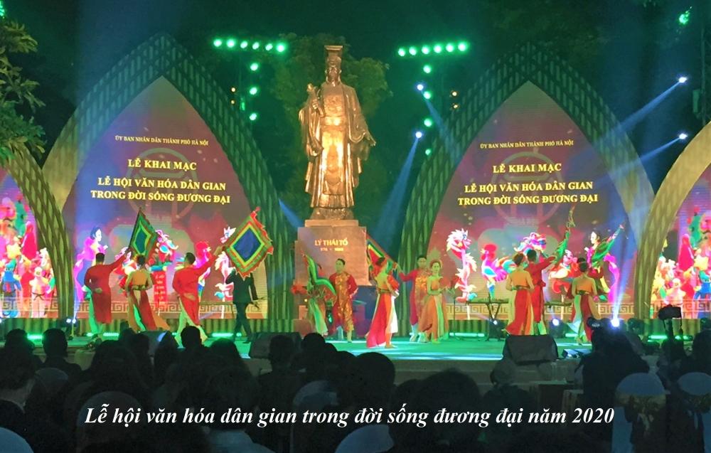 Lễ hội văn hóa dân gian trong đời sống đương đại năm 2020