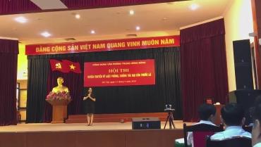 Hội thi tuyên truyền về Luật Phòng chống tác hại của thuốc lá