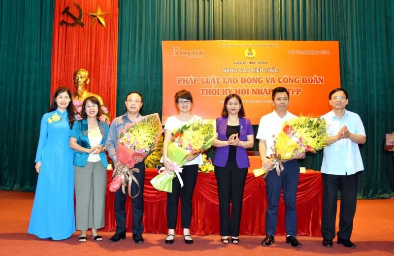 Giao lưu trực tuyến tại quận Nam Từ Liêm