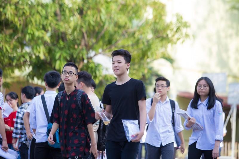 Kỳ thi tuyển sinh lớp 10 THPT năm học 2019 – 2020: Thí sinh vui mừng vì các môn thi tương đối vừa sức
