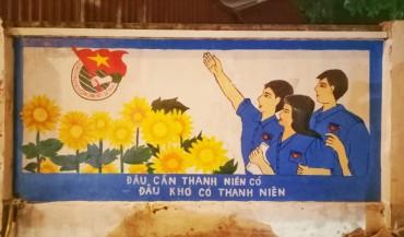 Tranh bích họa điểm nhấn trên đường Mộ Lao - Hà Đông
