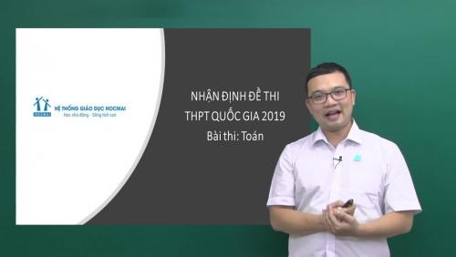 Phân tích độ khó đề thi môn Toán kỳ thi THPT quốc gia qua các năm