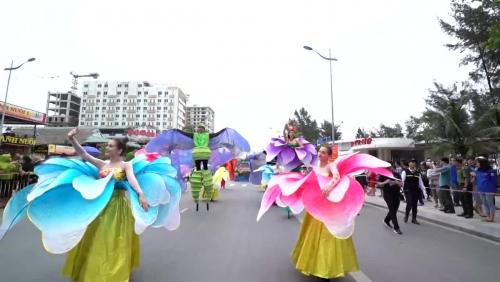 Ngày hội Carnival Đường phố lần đầu tiên tổ chức tại Thanh Hóa