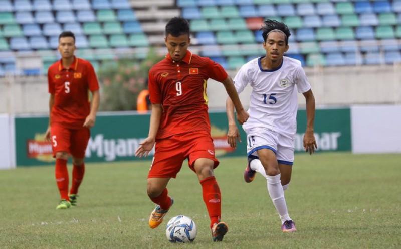 U19 Việt Nam thắng đậm U19 Lào